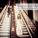 Alana & Michael | Jewish wedding at Bevis Marks Synagogue and The Shangri-La At The Shard, London's highest wedding venue