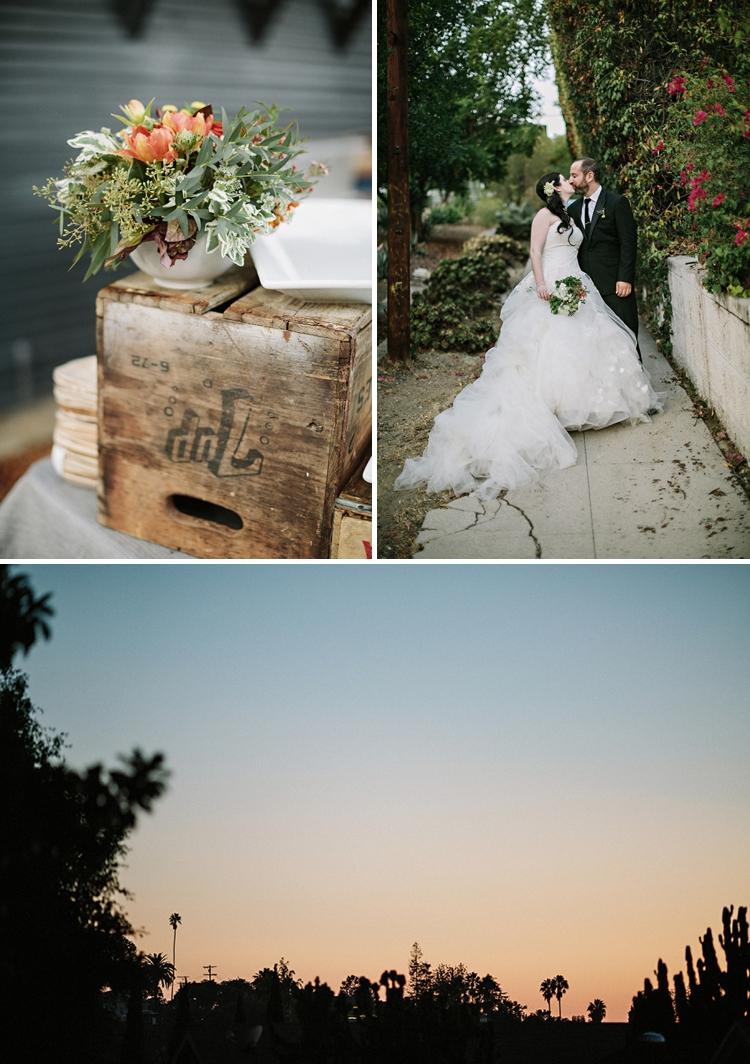 Casual Outdoor Garden Wedding