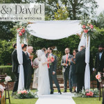 Ruth & David | Pretty Outdoor Jewish wedding at Northbrook Park, Farnham, Surrey UK