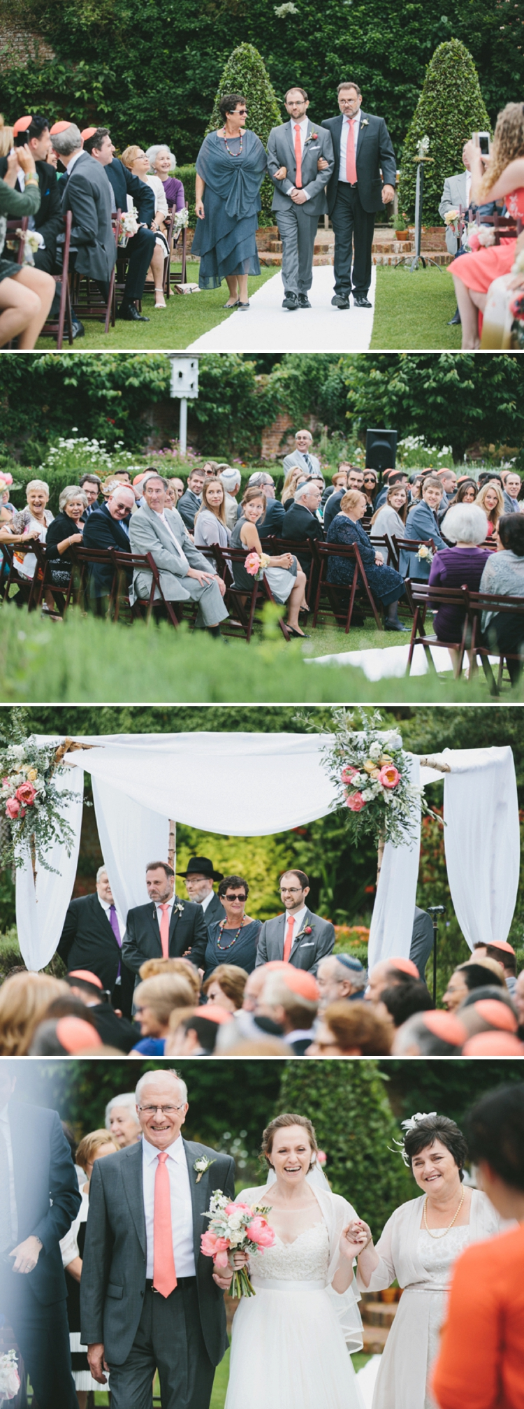 Gorgeous + Pretty Outdoor Jewish wedding at Northbrook Park, Farnham, Surrey UK