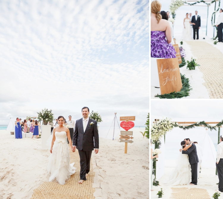 Travel themed beach-chic destination Jewish wedding at the Ritz-Carlton, Cancun, Mexico_0044
