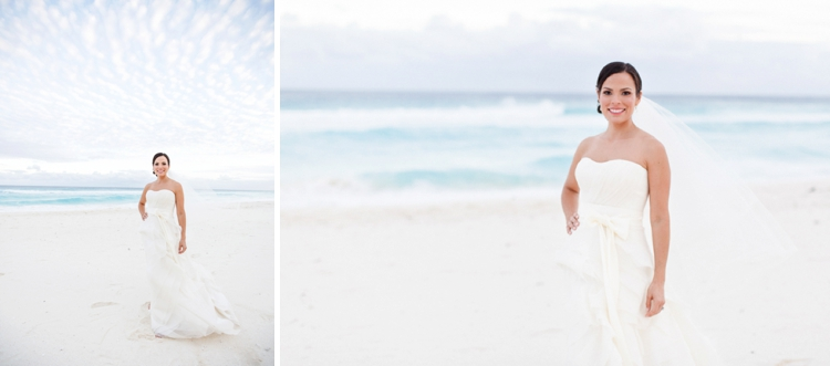 Travel themed beach-chic destination Jewish wedding at the Ritz-Carlton, Cancun, Mexico