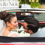 Sarah & Nick | àœber cool and intimate 'Red'  Jewish wedding at Forman's Smoked Salmon Fish Factory, Olympic Park, London, UK