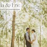 Magda + Eric   Rustic, vintage-chic, relaxed outdoor Jewish wedding with Parisian influences at Bianca, Moshav Ginaton, Israel