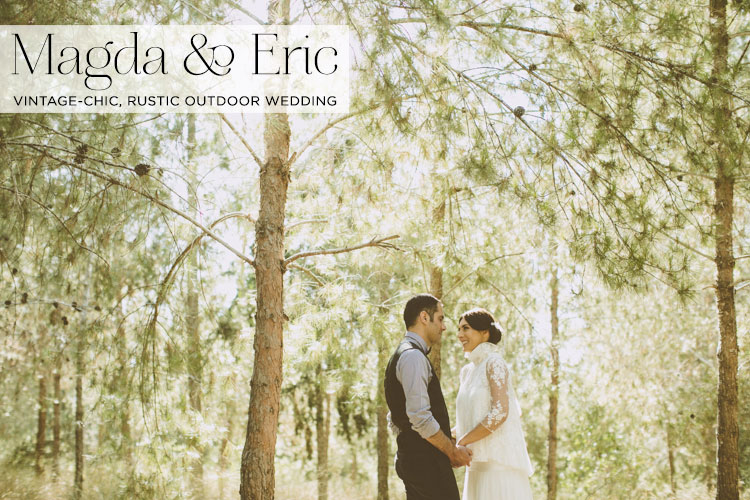 vintage-rustic-outdoor-wedding