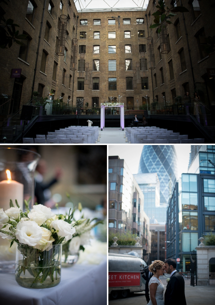 Classic White City Chic Jewish wedding at Devonshire Terrace, in the heart of the City of London, UK