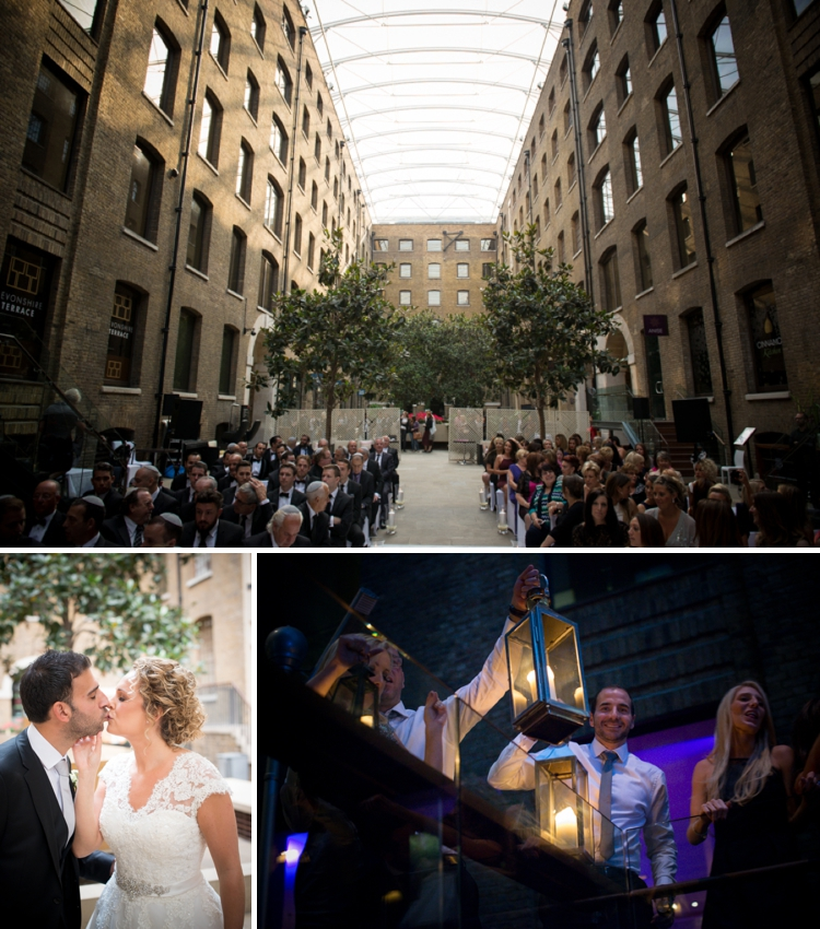 Classic White City Chic Jewish wedding at Devonshire Terrace, in the heart of the City of London