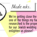 What's the correct processional order for a Jewish wedding ceremony?