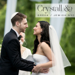 Crystall & Ryan | Jewish/Greek Wedding at Brooklyn Botanic Garden, New York, USA