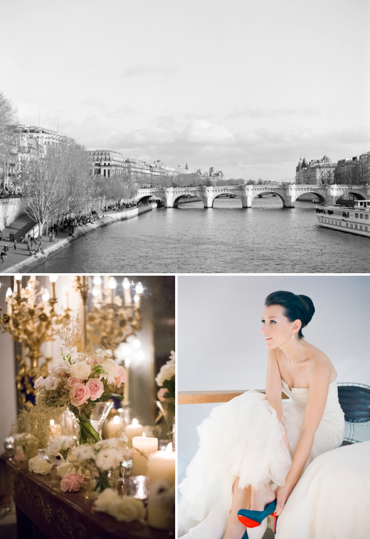 Julie & Zak | Gold and blush Parisian magnificence for a Jew-ish ...