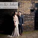 From the Archives :: A Jenny Packham wedding dress for an à¼ber cool London Jewish wedding
