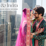 Talia & Indra | Colourful fusion Jewish Hindu 'HinJew' wedding at The Wit, Chicago, IL, USA