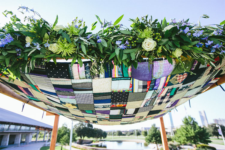 quilted-chuppah & How to make your friends and family feel extra special at your ...