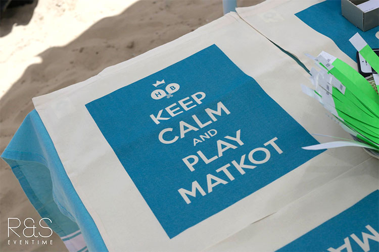 Keep Calm and play Matkot