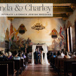 Amanda & Charley | Super fun and intimate laidback Jew-ish wedding at the Santa Barbara Courthouse, and The Lark, Santa Barbara, California