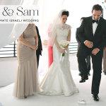 Ravit & Sam | Elegant & Intimate Israeli 'white wedding' at Beit Andromeda, Jaffa, Tel Aviv, Israel