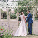 Ruth & Steven | An 'English afternoon tea garden party' daytime Jewish wedding in Israel
