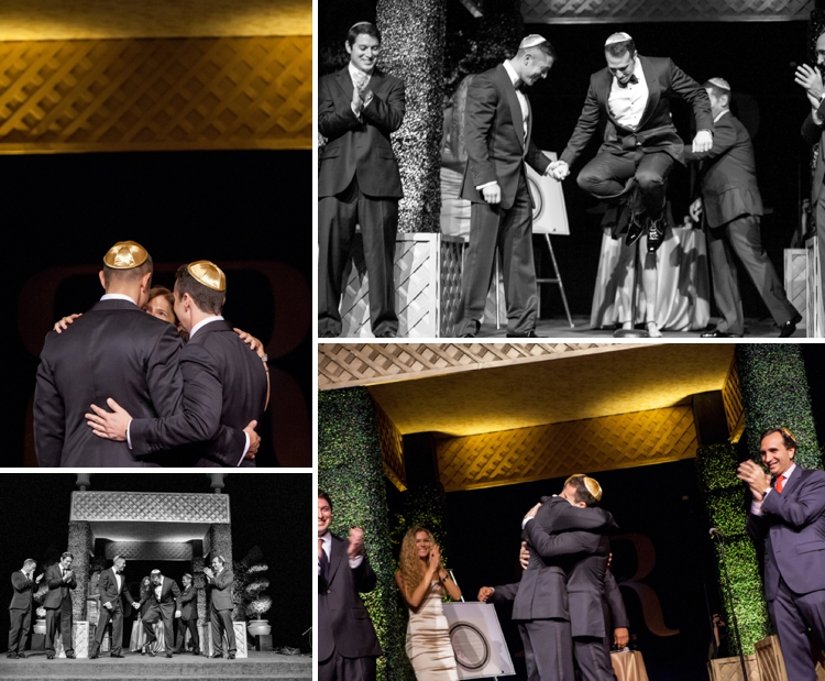 Gay Jewish Wedding at Paramount Studios, Hollywood, Los Angeles, USA