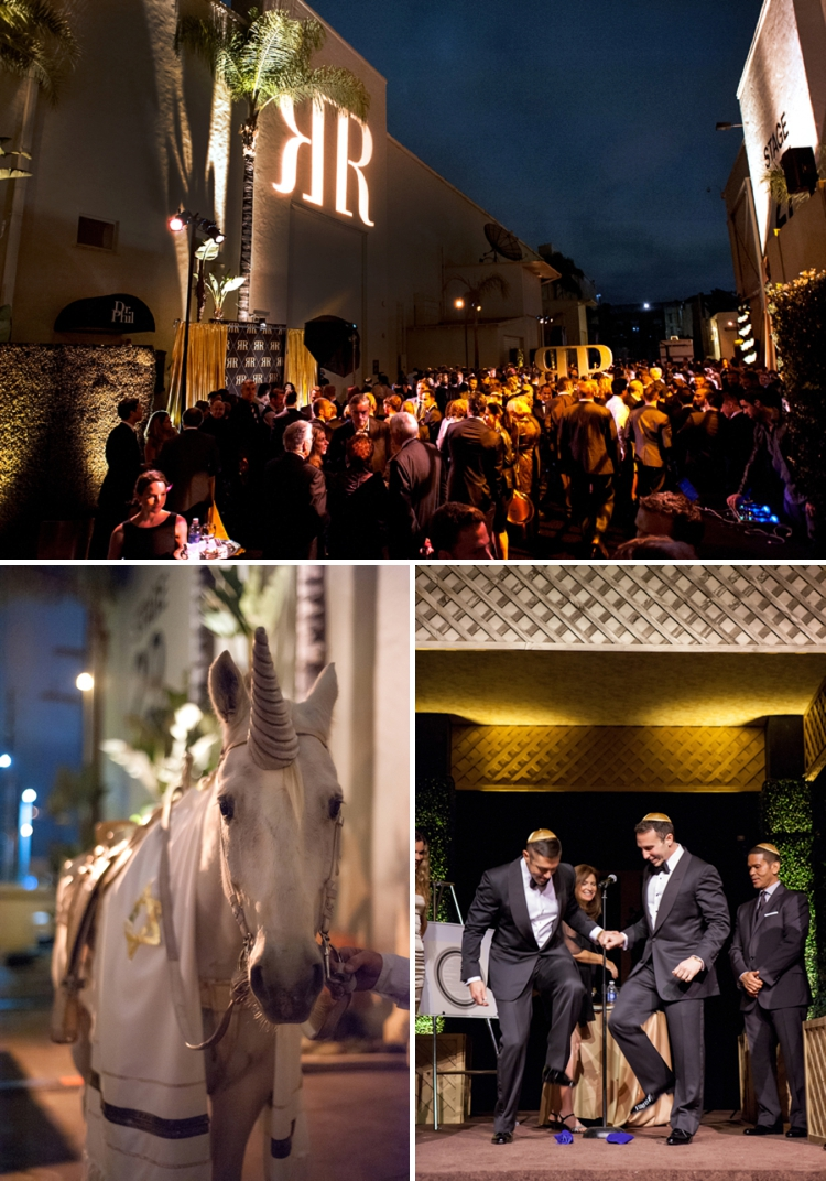 Gay Jewish Wedding at Paramount Studios, Hollywood, Los Angeles