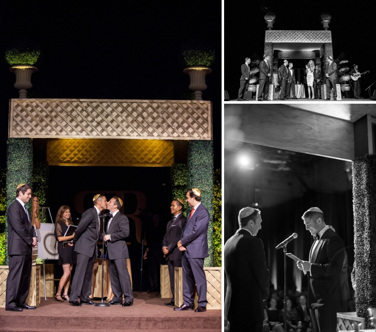 Gay Jewish Wedding at Paramount Studios, Hollywood, Los Angeles, USA 9