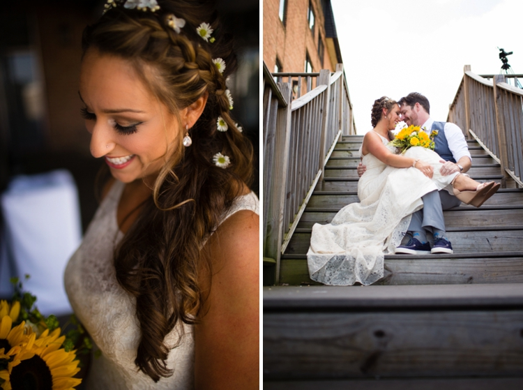 nautical themed Jewish wedding at Annapolis Marriott Waterfront
