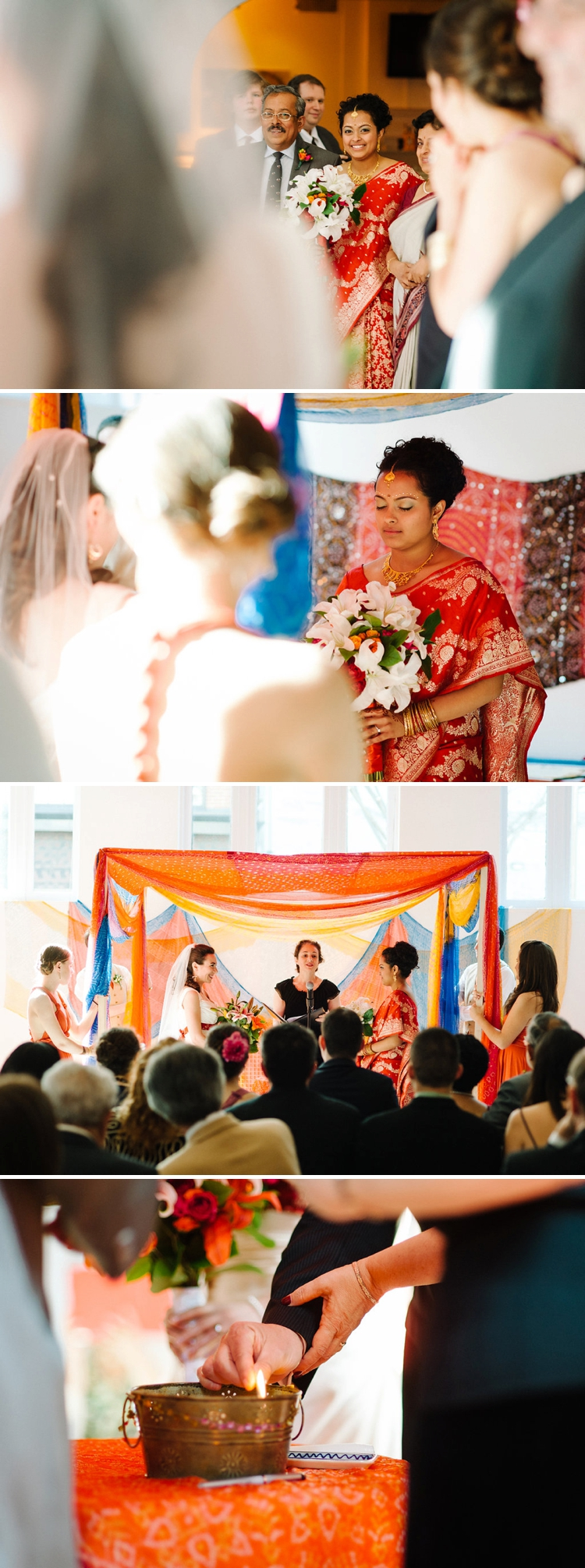 Multicultural Lesbian Wedding