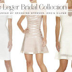 The Herve Leger Bridal Collection as experienced by Angie Silver, one of our much loved Sponsors