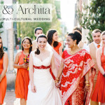 Yana & Archita | Jewish-Hindu-Indian-Russian multicultural lesbian wedding at Trust, Philadelphia, Pennsylvania, USA