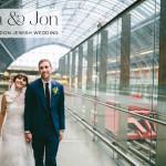 Anna & Jon | City chic Jewish wedding full of personal touches, at St Pancras Renaissance Hotel, King's Cross, London, UK