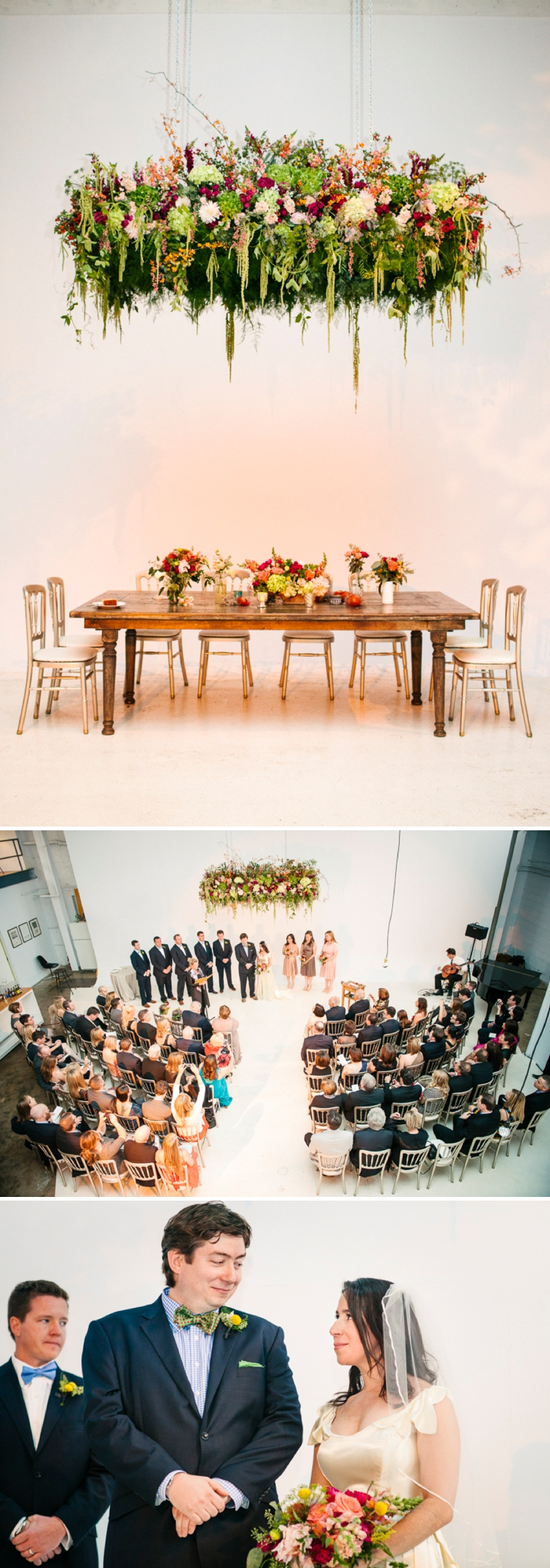 floral chuppah Jewish wedding