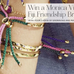 Win a Monica Vinader Fiji Friendship Bracelet with your choice of engraving!