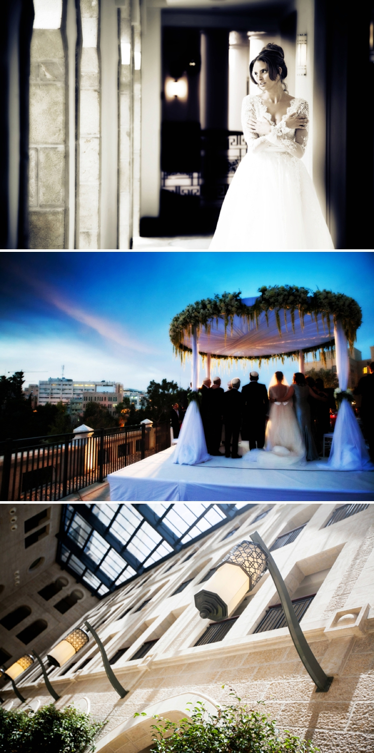 Waldorf Astoria Jerusalem wedding