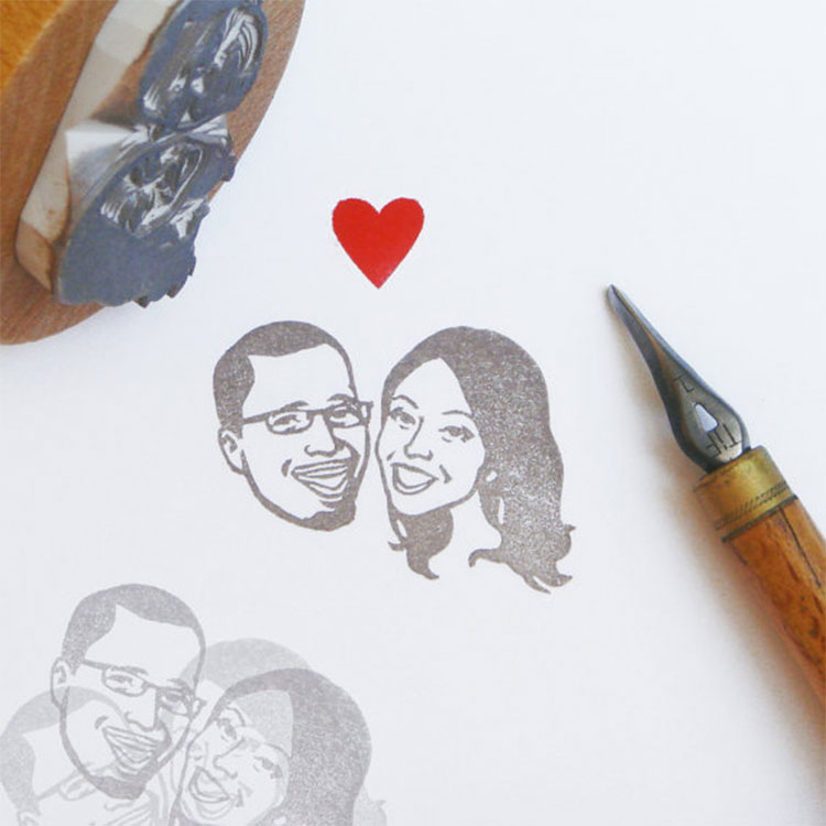 Couple-portrait-stamp