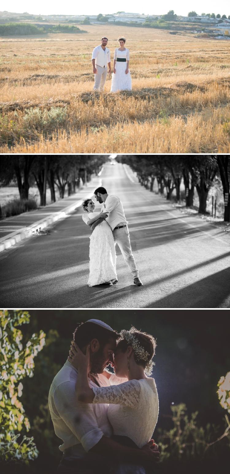 DIY wedding Israel