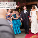 A Vivienne Westwood bride for a city chic Jewish wedding at The Criterion, London, UK
