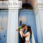 A Pronovias bride for a cool, whimsical Jew-ish wedding at The Amadeus Centre, Maida Vale, London, UK