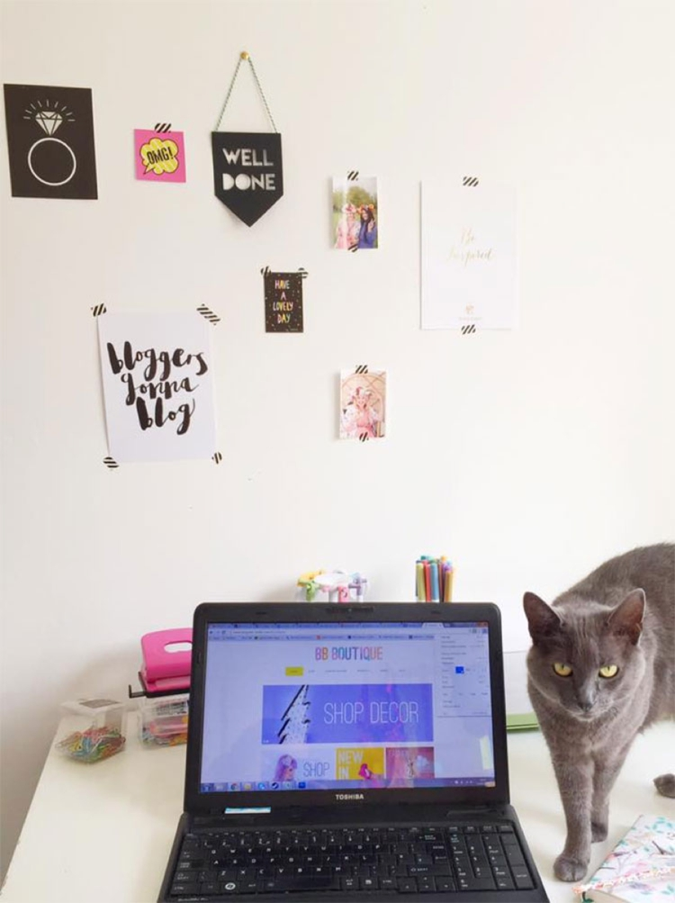 Blogger Workspace