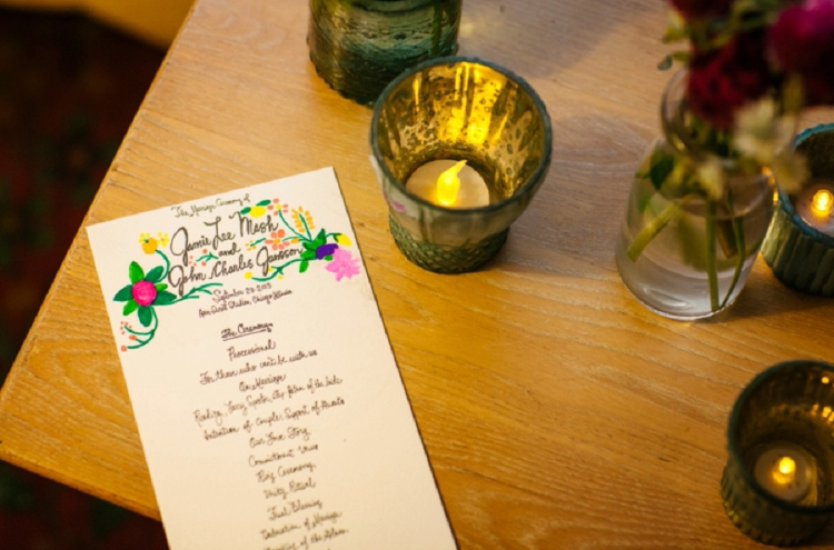 Jewish wedding program 101: How to create a ceremony program