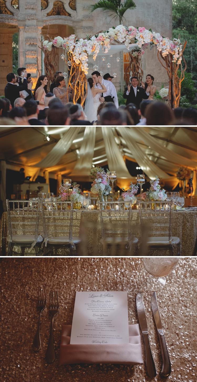Vizcaya Museum & Gardens weddingVizcaya Museum & Gardens wedding