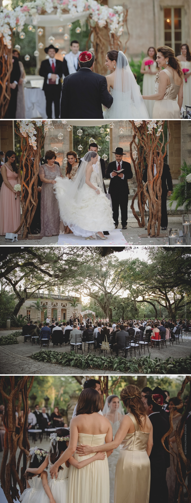 Vizcaya Museum & Gardens wedding