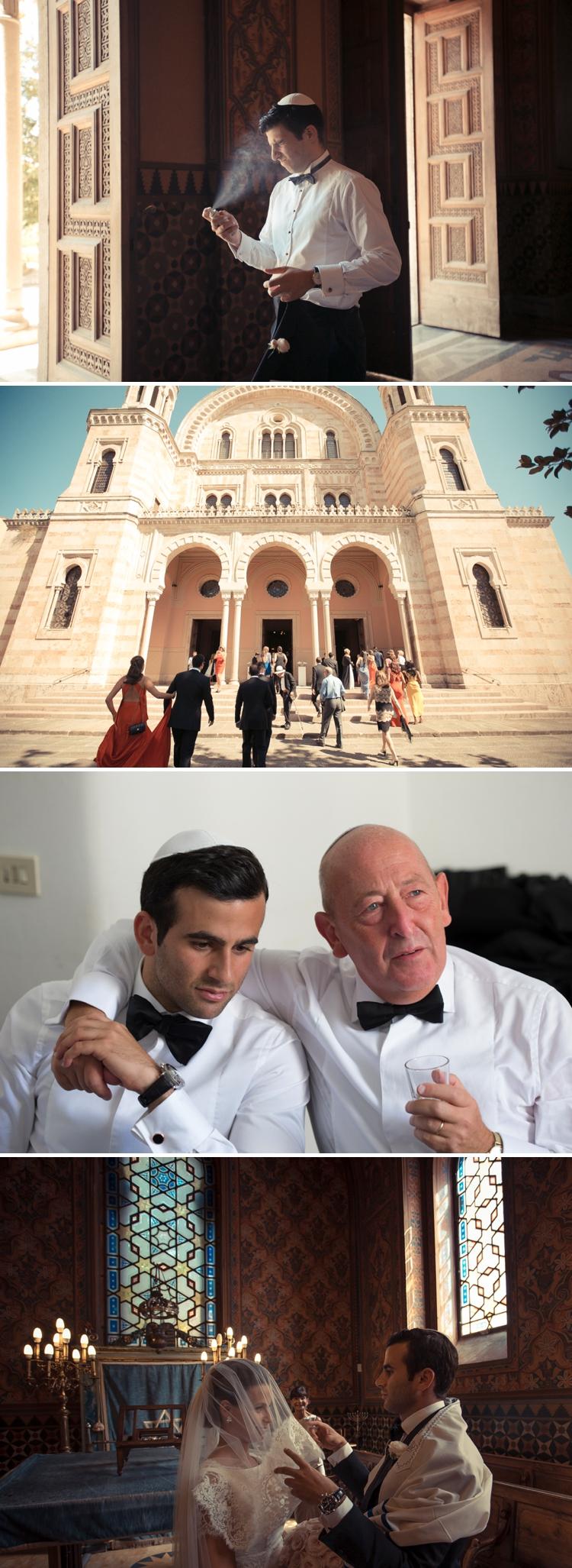 Jewish wedding Florence