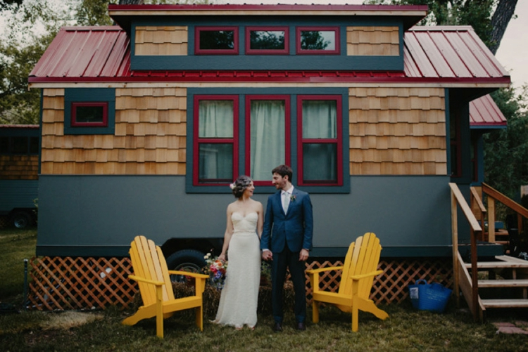 Bohemian DIY wedding