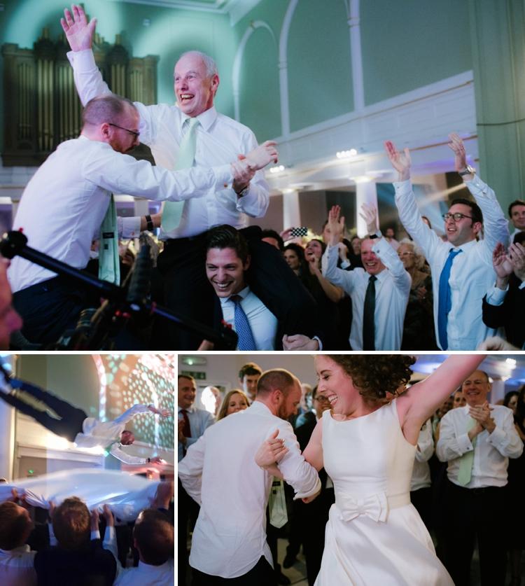 Israeli dancing wedding