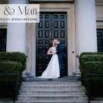 A Ritva Westenius bride for a city-chic Interfaith Jewish Wedding at One Marylebone, Central London, UK
