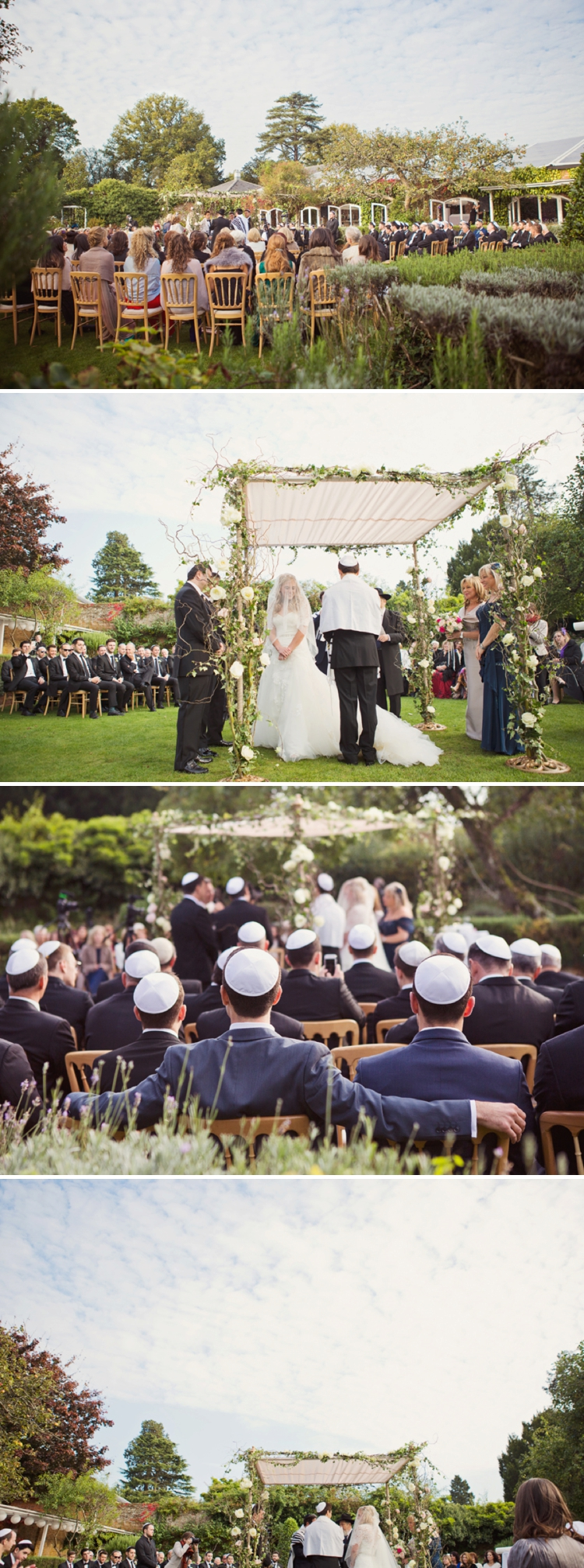 English Country Garden Jewish Wedding Northbrook Park_0150