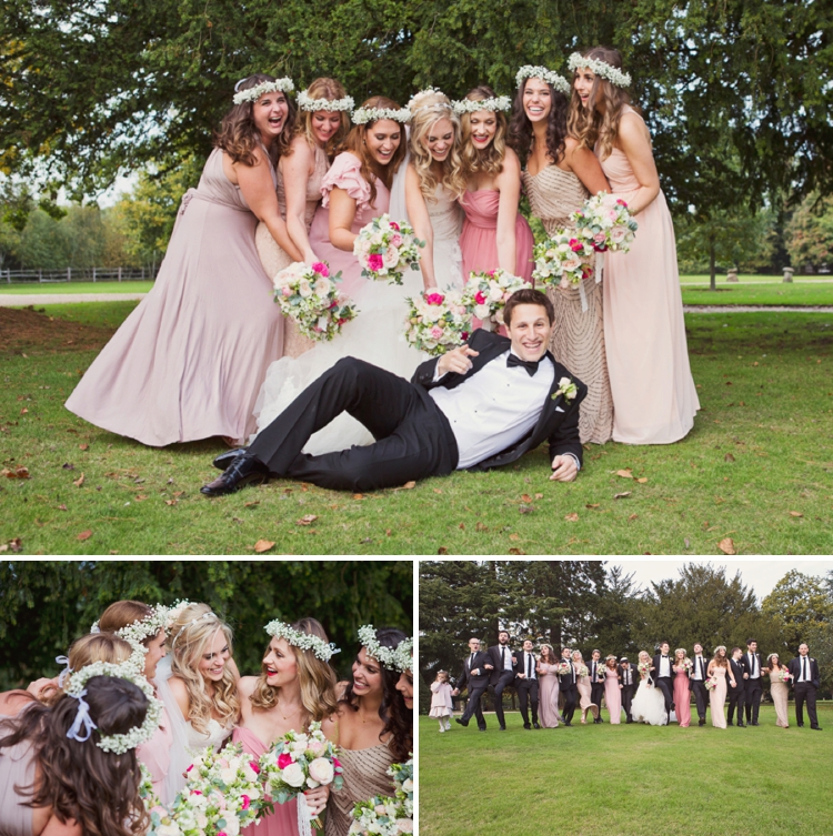 English Country Garden Jewish Wedding Northbrook Park