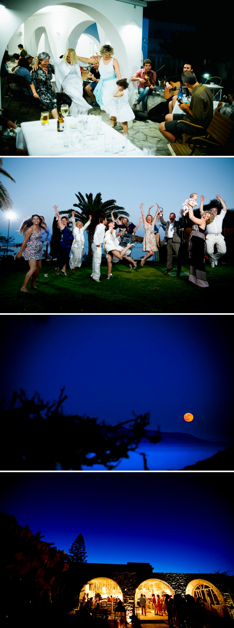 Jewish Wedding on the Greek island of Paros, Greece