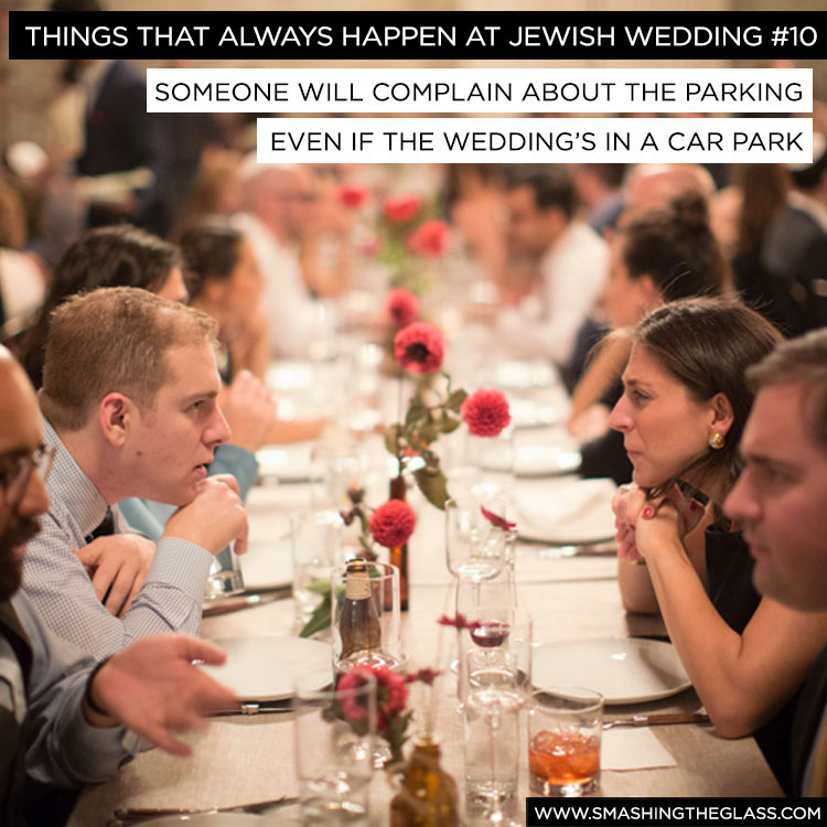 Things That Always Happen At Jewish Weddings