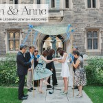 Sarah & Anne | Super stylish Same Sex Jewish Wedding at Hart House, University of Toronto, Ontario, Canada