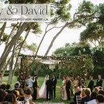 A Mira Zwillinger bride for a super luxe 'ethereal black tie' Destination Jewish Wedding in Marbella, Spain
